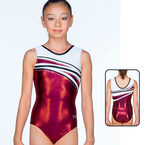 Leotard in Metallic Elastane 8735