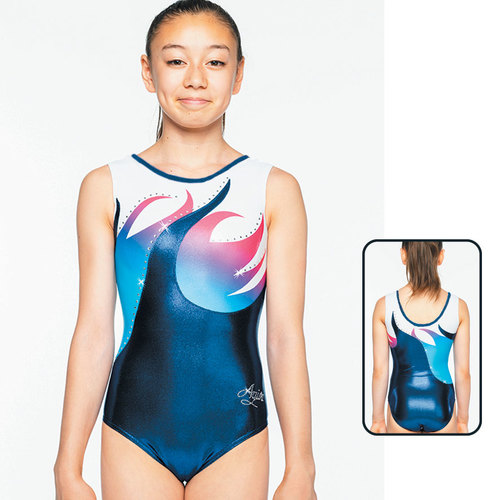 Leotard in Metallic Elastane 1877