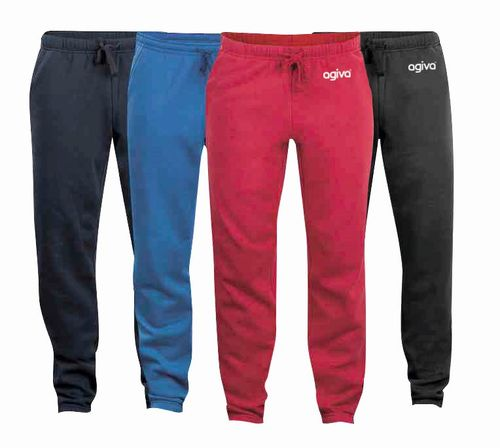 Unisex pants in sweatshirt material  47063