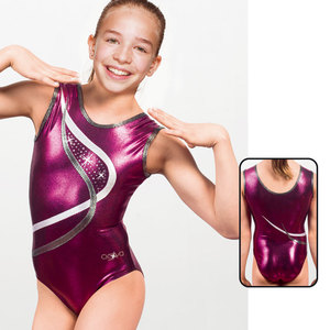 Leotard in Metallic Elasthan 8616
