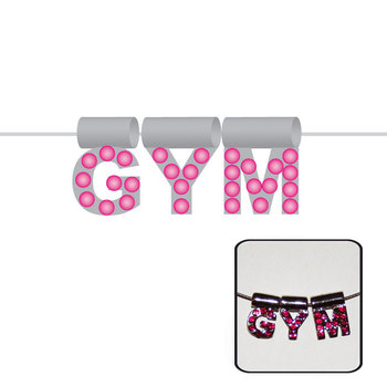 Necklace Gym in Silver 9053F