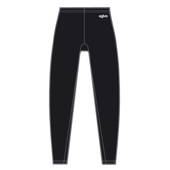 Elasthan Legging in Black 3800