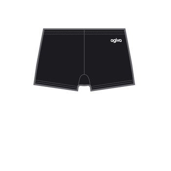 Hot Pant in Smooth Velours Black (550) 3768 550