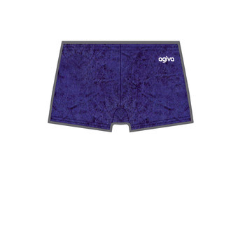 Hot Pant in Crushed Velours Navy (454) 3768 454