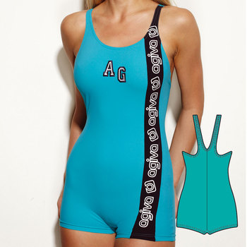 Swimsuit in Elasthan 7157