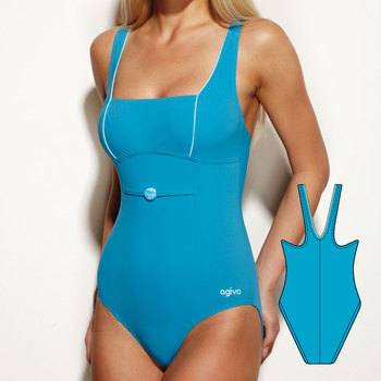 Swimsuit in Elasthan 7154