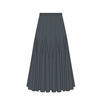 Flamenco skirt 1014