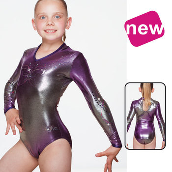 Leotard in Metallic Elasthan 8688