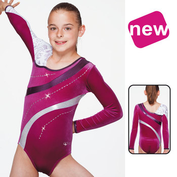Leotard in Velours 8673