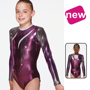 Leotard in Metallic Elasthan 1844