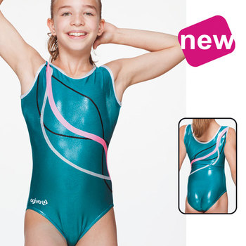 Leotard in Metallic Elasthan 8692