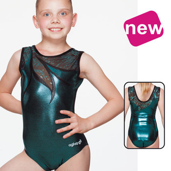 Leotard in Metallic Elasthan 8694