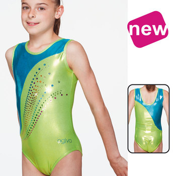 Leotard in Metallic Elasthan 1537