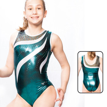 Leotard in Metallic Elasthan 8867