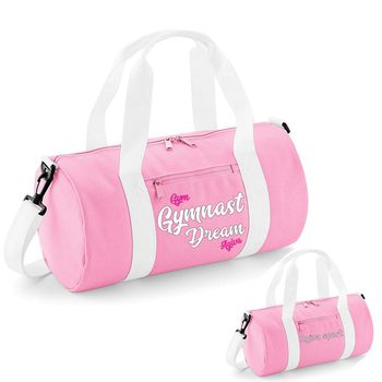 Original barrel bag pink&white 9047FB