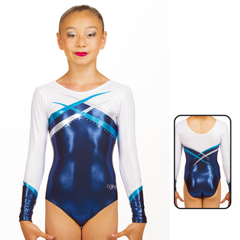 Leotard in Metallic Elastane 8917