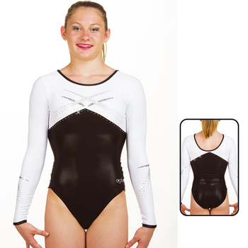 Leotard in Metallic Elastane 8918