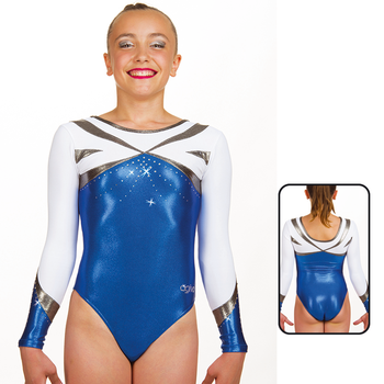 Leotard in Metallic Elastane 8699
