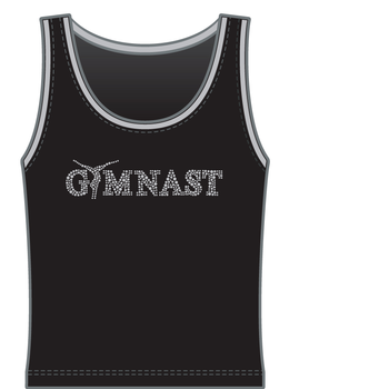 Gymnast top in microfiber 9788S
