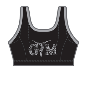 Gymnast top in microfiber 9790S