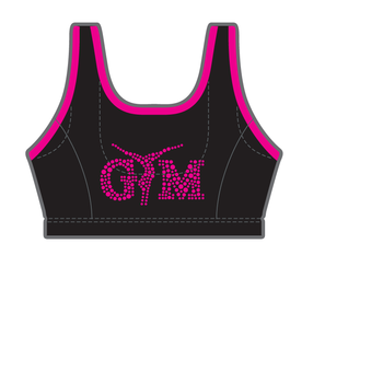 Gymnast top in microfiber 9790F