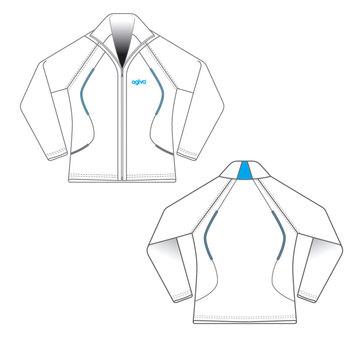 Jacket in Brushed Elastane  4604