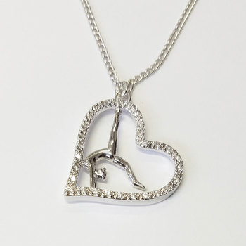 Heart pendant in silver 96351