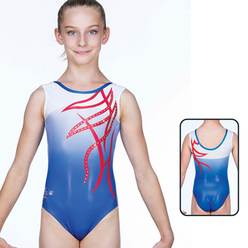 Leotard in Metallic Elastane 8712