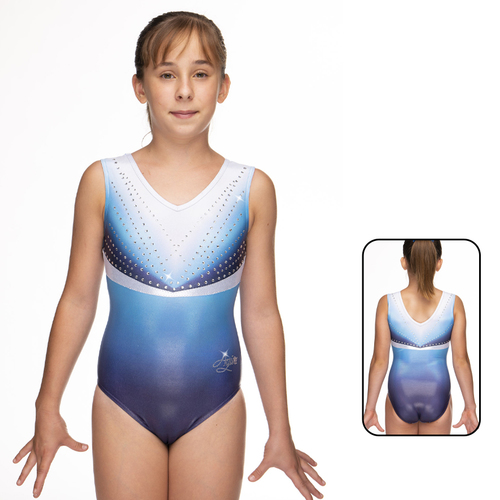 Leotard in Metallic Elastane 1861