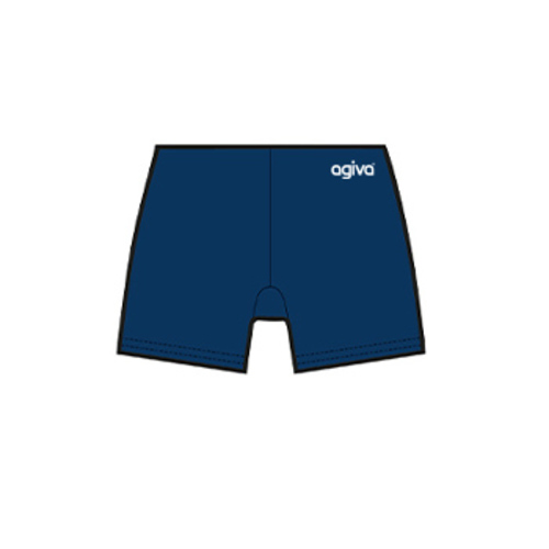 Hot Pant in Smooth Velours Navy 3768 554